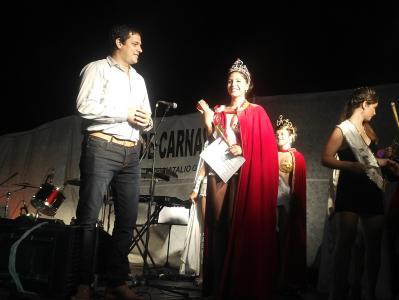 Sabrina Santi de La Floresta es la nueva reina de los Carnavales