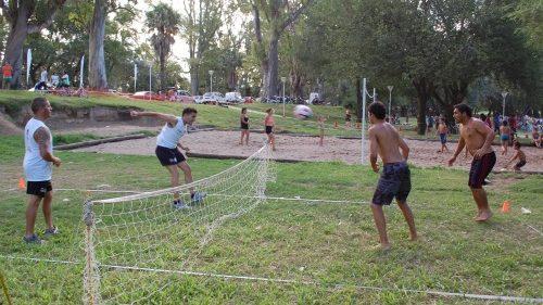 Una tarde con deporte, ritmos y música en el Parque