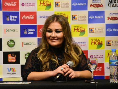 """Amaia Montero: """"Expresé mi deseo de llegar a cantar en este Festival"""""""