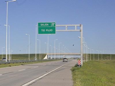 Un despiste en la Autopista y dos choques en la ciudad