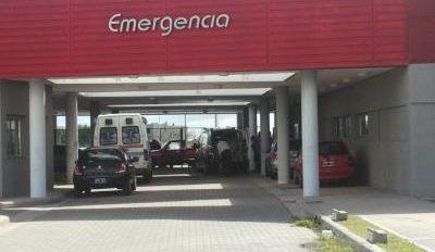 Motociclista fracturado luego de chocar contra una camioneta