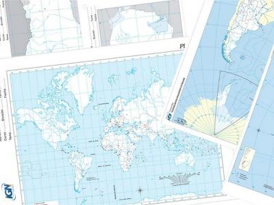 ¿Necesitas mapas para el colegio? Los podés descargar gratis