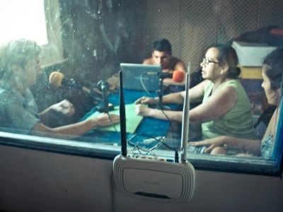 radio la megafonica estudio