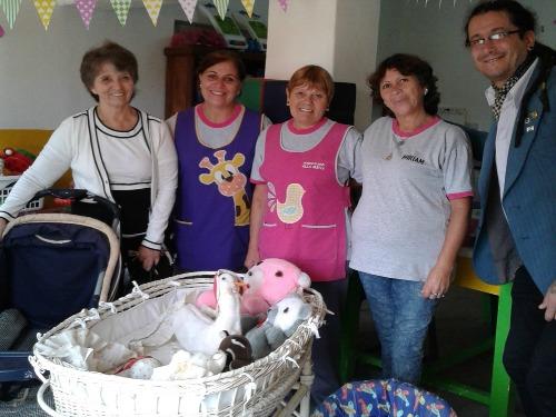El Rotary donó juguetes y mobiliario al Justo Paez Molina