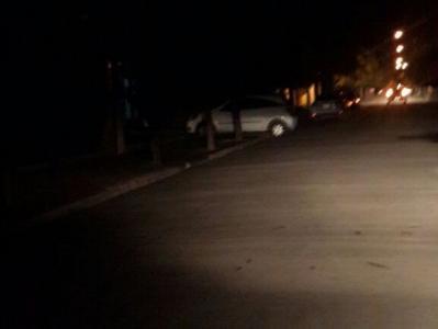 Barrio Santa Ana a oscuras