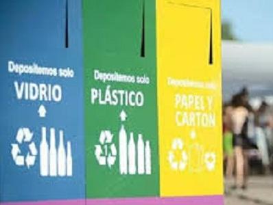 Conciencia ecológica: Canastos para residuos diferenciados en Villa Nueva