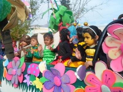 Los jardines de infantes festejan su d a en el parque de for Leccion jardin infantes 2016