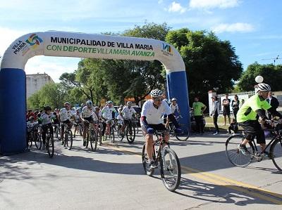 Bicicleteada para concientizar sobre el Mal de Parkinson