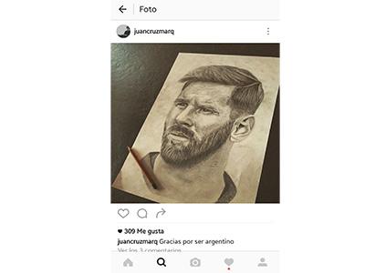 Messi-dibujo-instagram
