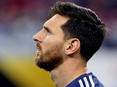 El increble dibujo de Messi hecho por un joven villamariense