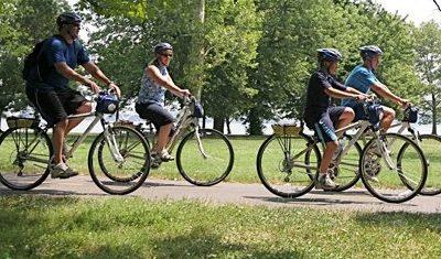 Invitan a celebrar el Día de la Independencia con un paso en bici por Villa Nueva