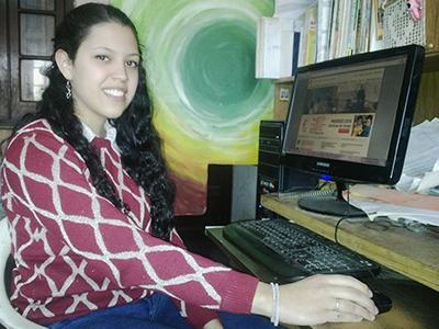Estudiante villamariense, admitida para ingresar al Instituto Balseiro