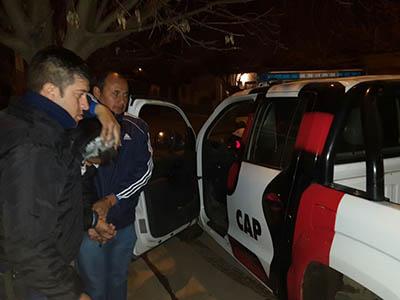 Detienen a un hombre que le robó a otro del mismo barrio