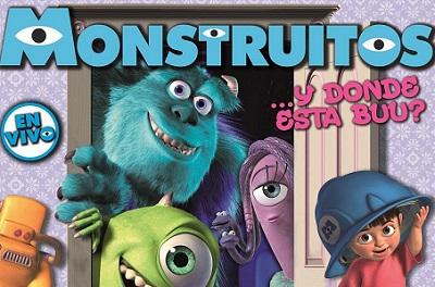 """Sorteo de entradas para la obra infantil """"Monstruitos"""""""