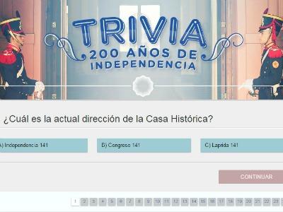 ¿Cuánto sabés sobre el Bicentenario de la Independencia?