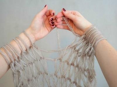 Cómo tejer sin usar agujas: 4 ideas fáciles para hacer en casa
