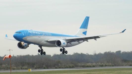 Aerolíneas Argentinas vuela a destinos turísticos desde Córdoba
