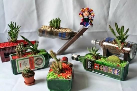 Macetas Para Cactus. Cool Winomo Artificial Con Maceta Plantas ...