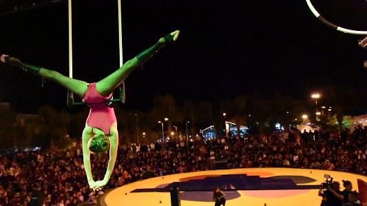 Vacaciones de invierno: shows gratuitos en una carpa de circo