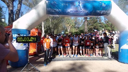 En Villa Nueva, más de 200 personas corrieron la maratón