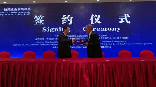 Empresa local firmó acuerdo con China por servicios informáticos