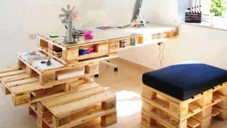 muebles con palets 5 ideas para ahorrar dinero y reutilizar - Muebles De Palets