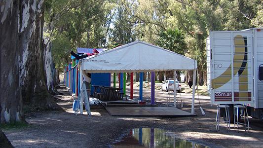 Villa Nueva prepara el parque para su primera exposición comercial