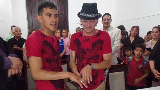 Tercer casamiento igualitario en Villa Nueva