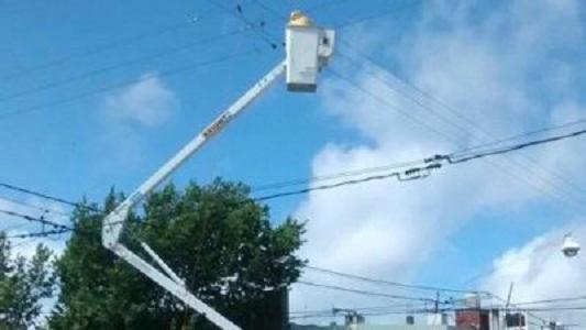 Cortes de luz en casi 20 barrios de la ciudad
