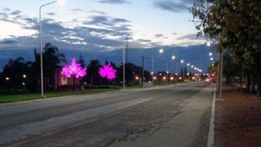 El alumbrado público provincial será con luces LED