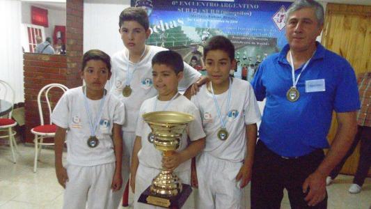 Un chico villanovense se coronó campeón en torneo de bochas