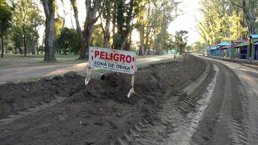 Precaución en el parque de Villa Nueva: acondicionan calles