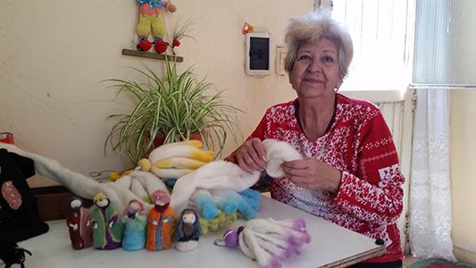 ¿Cómo hacer artesanías con lana de oveja? Silvia te lo cuenta