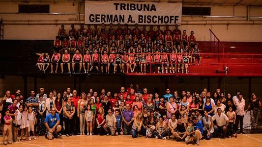 En una noche emotiva, Ameghino homenajeó a Germán Bischoff