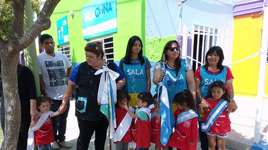 58 chicos de Villa Nueva tienen sala Cuna para estrenar