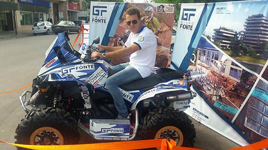 """Un """"tipo común"""" que a los 43 correrá su primer Dakar"""