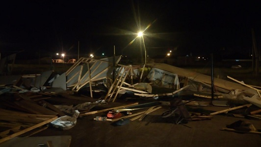 La Provincia dará $ 100.000 para cubrir destrozos en Arroyo Algodón