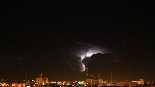 Alerta por tormentas con actividad eléctrica y fuertes ráfagas