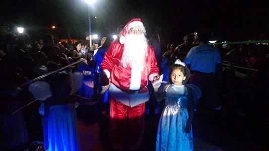 Así vivió Villa Nueva su Navidad anticipada en la plaza