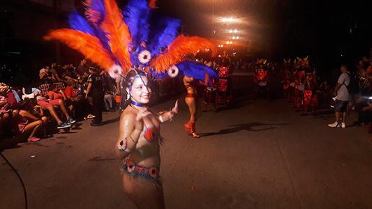 Se largó la primera noche de los Carnavales de Villa Nueva