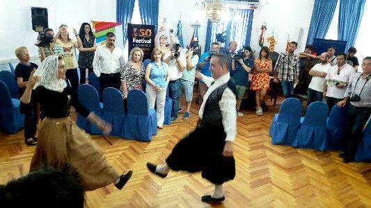 Se presentó en Villa María la Fiesta de Colectividades de Alta Gracia