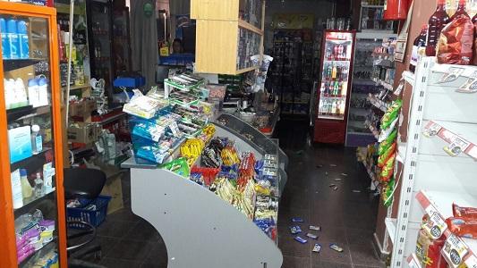 Robaron en un local comercial de Villa Nueva y quedaron detenidos
