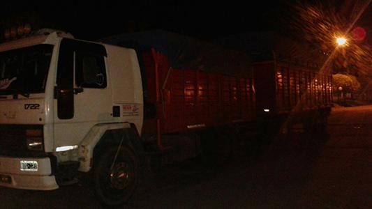 gendameria procedimiento noche camion 3