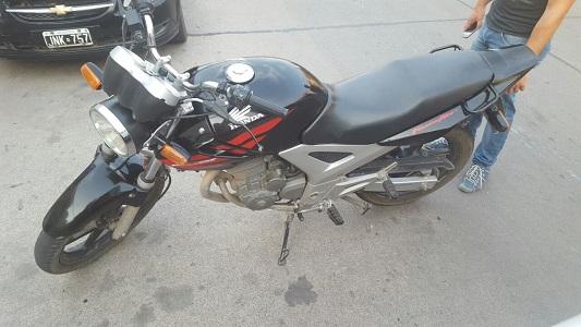 moto robada