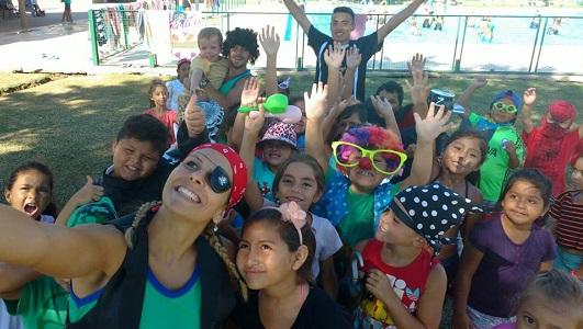 Más de 500 chicos van a las 3 piletas comunitarias que tiene la ciudad