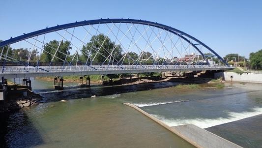 Simulacro de triple choque con 50 víctimas sobre el puente nuevo