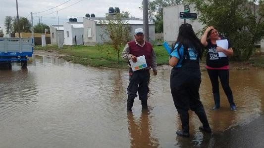 Más de 600 familias afectadas por tormentas estivales en Córdoba