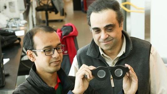 Un argentino creó lentes irrompibles y eternos