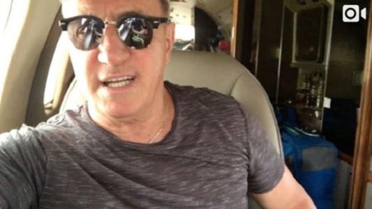 Franco de Vita desde el avión cuenta cuándo llega a Villa María