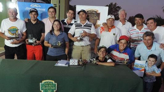 El primer Abierto de Golf de Villa María definió a sus ganadores